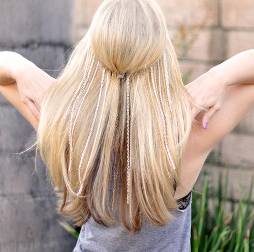 Мастер-класс украшения для волос