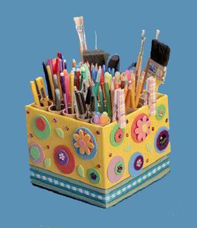 Как сделать карандашницу своими руками