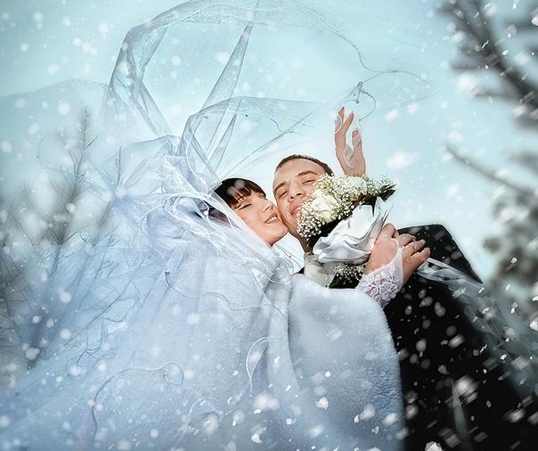 Свадьба зимой: от идеи звук воплощения