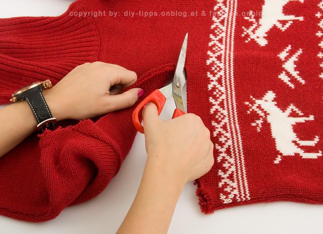 Юбка из свитера своими руками