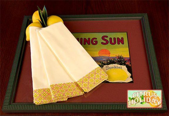 Сшить салфетки своими руками из ткани