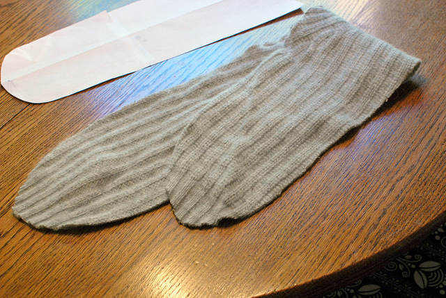 Шарф из свитера своими руками
