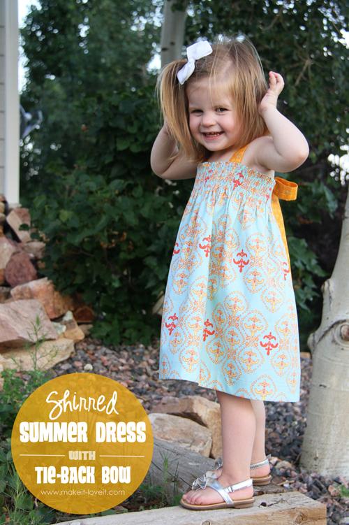Трикотажное платье своими руками для девочки.