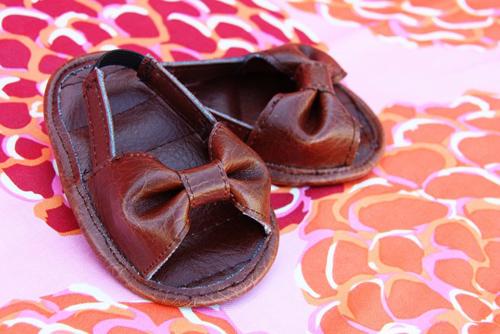 Детские сандалии своими руками