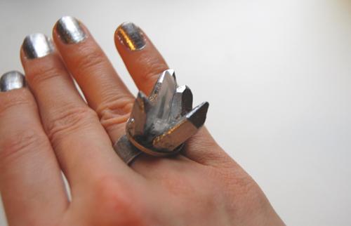 Бижутерия своими руками - кольца