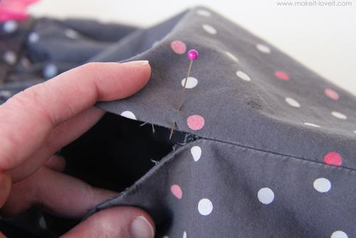 Как сделать прорезной карман