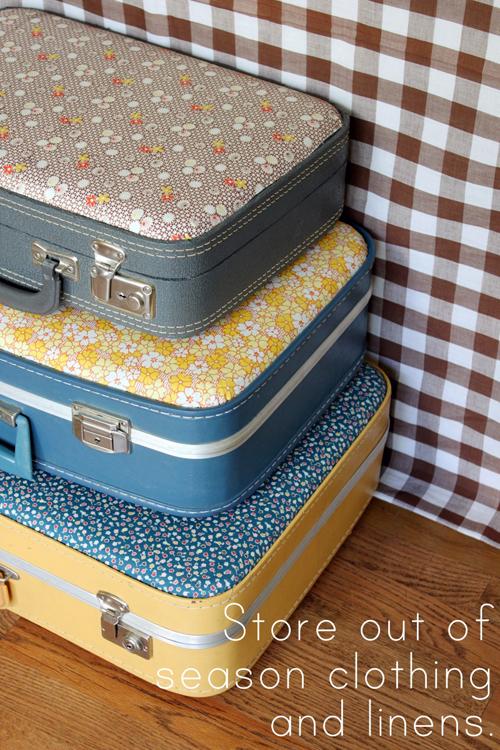 Декор чемодана