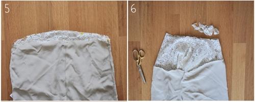 Как сделать топ из рубашки