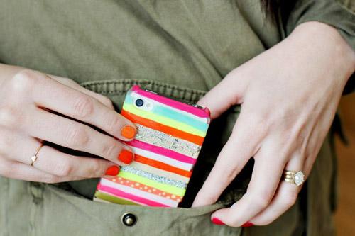 Как сделать яркий чехол для IPhone