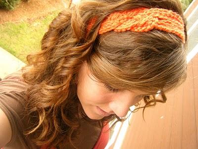 Повязка для волос - мастер-класс