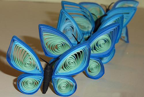 Как сделать бабочку