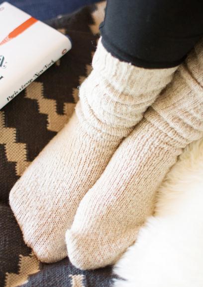 Как самому сделать носки