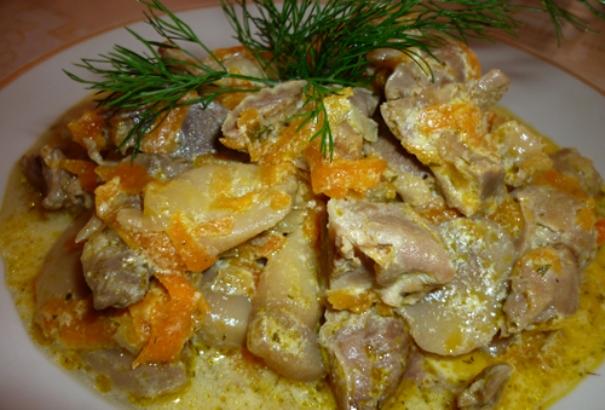Что приготовить изо куриных желудков: втридешева и вкусно!