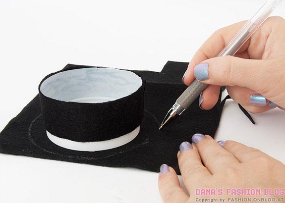Шляпка на ободке своими руками