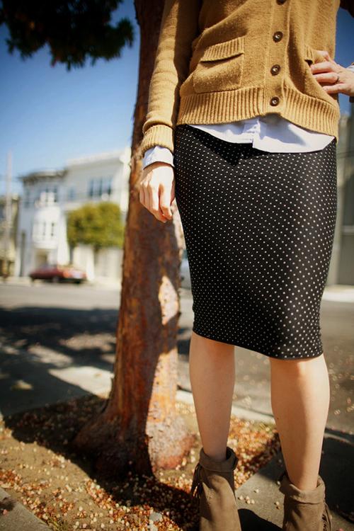 Узкая юбка своими руками