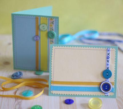Изготовление открытки своими руками