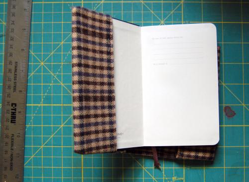 Обложка из ткани своими руками