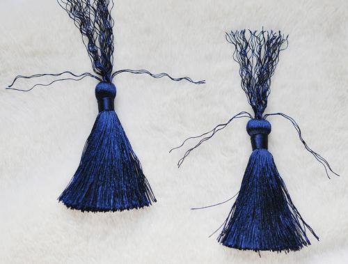 Как сделать серьги из бахромы