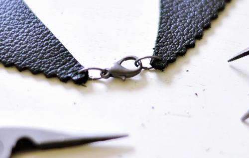 Ожерелье-воротничок своими руками