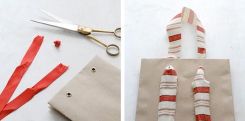 Подарочные пакеты своими руками