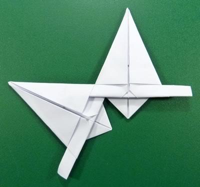 Как сделать звезду из  бумаги