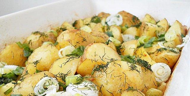 Молодой картофель: сезонное блюдо  в  мультиварке