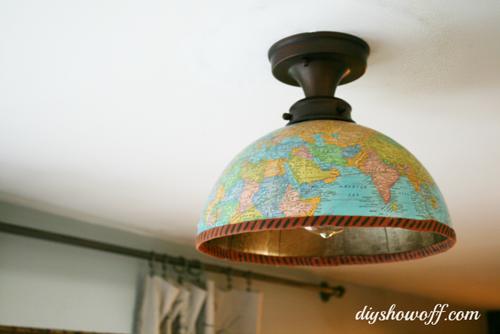 Плафон для лампы своими руками